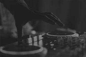 DJ Black and White
